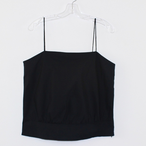 GAP Tops - Gap Stretch Thin Spaghetti Strap Top Black Large